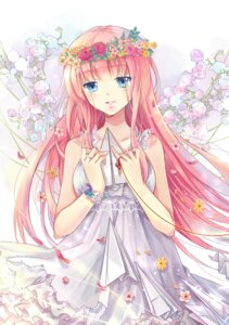 Rating: Safe Score: 35 Tags: dress ekita_gen megurine_luka vocaloid User: Mr_GT