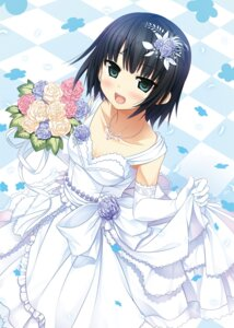 Rating: Questionable Score: 28 Tags: arishima_alice cleavage cura dress lose monobeno possible_duplicate wedding_dress User: Twinsenzw