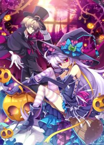 Rating: Safe Score: 21 Tags: capura.l halloween thighhighs witch User: fairyren