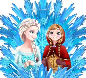 Rating: Safe Score: 12 Tags: anna_(frozen) delicious_:p elsa_(frozen) frozen User: followwow