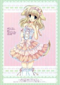 Rating: Safe Score: 37 Tags: animal_ears cascade dress hasekura_chiaki lolita_fashion tail thighhighs User: midzki
