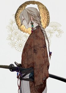 Rating: Safe Score: 17 Tags: japanese_clothes kimono sword tayuya1130 User: mash