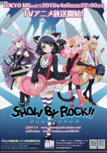 Rating: Safe Score: 24 Tags: animal_ears bunny_ears chuchu_(show_by_rock!!) cyan_(show_by_rock!!) dress garter guitar heels lolita_fashion megane moa_(show_by_rock!!) nekomimi pantyhose retoree_(show_by_rock!!) show_by_rock!! thighhighs User: Seneca347