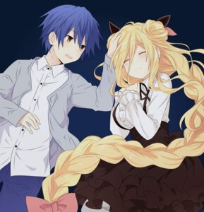 Rating: Questionable Score: 26 Tags: date_a_live dress hoshimiya_mukuro itsuka_shidou qing_cui User: kiyoe