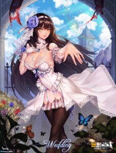 Rating: Safe Score: 47 Tags: choney cleavage dress girls_frontline pantsu qbz-95 see_through signed stockings thighhighs wedding_dress User: Mr_GT