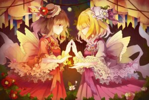 Rating: Safe Score: 29 Tags: dress maribel_hearn tagme touhou usami_renko wings User: Radioactive