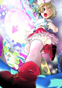 Rating: Questionable Score: 14 Tags: ass eudetenis pantsu tagme thighhighs User: IANDERE