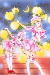 Rating: Safe Score: 10 Tags: chibiusa paper_texture sailor_moon takeuchi_naoko tsukino_usagi User: yumichi-sama
