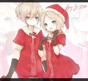 Rating: Safe Score: 14 Tags: christmas kagamine_len kagamine_rin tetsuo vocaloid User: charunetra