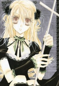 Rating: Safe Score: 7 Tags: otomiya_haine shinshi_doumei_cross tanemura_arina User: syaoran-kun