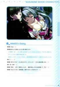 Rating: Questionable Score: 6 Tags: bra cleavage clochette mitsumine_minato oshiki_hitoshi screening seifuku suzunone_seven User: admin2