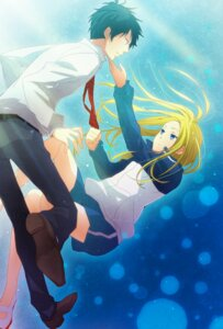 Rating: Safe Score: 11 Tags: arakawa_under_the_bridge ichinomiya_kou morino_mizu nino_(arakawa) User: Radioactive