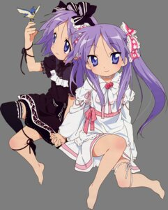 Rating: Safe Score: 20 Tags: hiiragi_kagami hiiragi_tsukasa lolita_fashion lucky_star transparent_png User: admin2