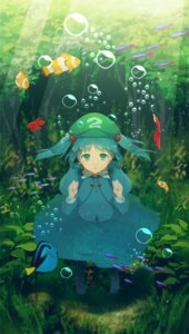 Rating: Safe Score: 17 Tags: aki_mikan dress kawashiro_nitori touhou wet User: charunetra