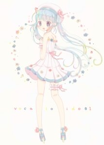 Rating: Safe Score: 22 Tags: dress garter hatsune_miku heels roromi summer_dress vocaloid User: animeprincess