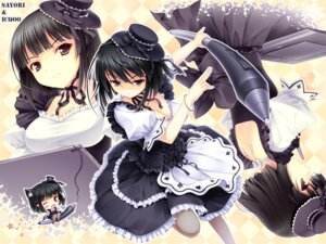 Rating: Safe Score: 27 Tags: chibi cleavage icqoo lolita_fashion sayori wallpaper User: Aurelia