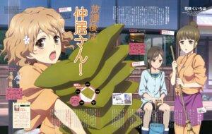 Rating: Safe Score: 15 Tags: hanasaku_iroha makino_hiromi matsumae_ohana oshimizu_nako tsurugi_minko User: Jigsy