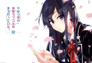 Rating: Safe Score: 63 Tags: ponkan_8 seifuku yahari_ore_no_seishun_lovecome_wa_machigatteiru. yukinoshita_yukino User: h_12439