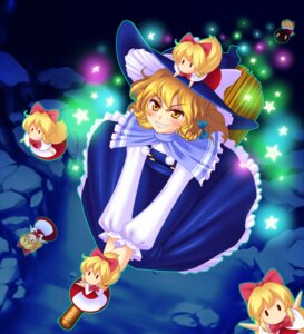 Rating: Safe Score: 7 Tags: hanazuka_ryouji kirisame_marisa touhou witch User: konstargirl