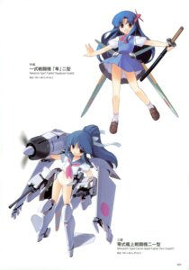 Rating: Safe Score: 6 Tags: jiji mc_axis mecha_musume seifuku User: crim