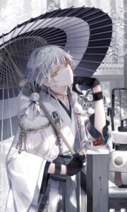 Rating: Safe Score: 15 Tags: hachishikokusuke japanese_clothes male touken_ranbu tsurumaru_kuninaga umbrella User: Mr_GT