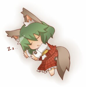 Rating: Safe Score: 6 Tags: animal_ears chibi gurageida kazami_yuuka tail touhou User: Radioactive