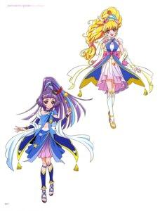 Rating: Safe Score: 5 Tags: asahina_mirai dress izayoi_riko mahou_girls_precure! miyamoto_emiko pretty_cure tagme User: drop