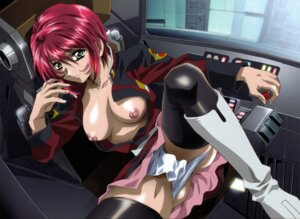 Rating: Questionable Score: 44 Tags: breasts gundam gundam_seed gundam_seed_destiny kawarajima_koh lunamaria_hawke nipples no_bra pantsu thighhighs uniform User: Nazzrie