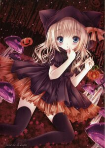 Rating: Safe Score: 25 Tags: animal_ears dress halloween mubi_alice nekomimi raw_scan see_through thighhighs User: kaguya940385
