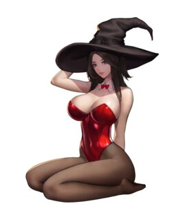 Rating: Safe Score: 31 Tags: kim_jungon leotard pantyhose witch User: BattlequeenYume
