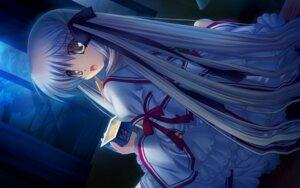 Rating: Safe Score: 23 Tags: game_cg hinoue_itaru rewrite seifuku senri_akane User: MyNameIs