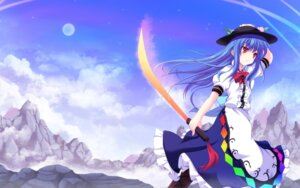 Rating: Safe Score: 15 Tags: cross hinanawi_tenshi sword touhou wallpaper User: 椎名深夏