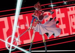 Rating: Safe Score: 8 Tags: aijou_karen heels shoujo_kageki_revue_starlight sword tagme uniform User: saemonnokami
