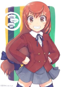 Rating: Safe Score: 14 Tags: buratei_marii cosplay joshiraku kazuboh seifuku thighhighs toradora! User: blooregardo
