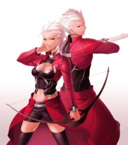 Rating: Safe Score: 14 Tags: aile archer cleavage fate/stay_night genderswap User: Riven