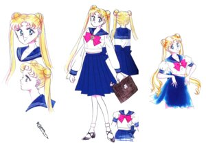 Rating: Safe Score: 6 Tags: heels sailor_moon seifuku takeuchi_naoko tsukino_usagi User: Radioactive