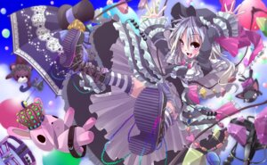 Rating: Safe Score: 15 Tags: flandre_scarlet gothic_lolita lolita_fashion shunsuke thighhighs touhou User: ddns001