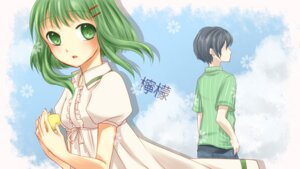Rating: Safe Score: 9 Tags: dress gumi vocaloid yayoi User: Nekotsúh