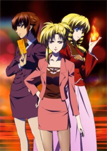 Rating: Safe Score: 9 Tags: katherine_mcdonald kaze_no_stigma pantyhose tachibana_kirika User: Radioactive