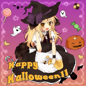 Rating: Safe Score: 21 Tags: animal_ears halloween kirisame_marisa purin_jiisan tail touhou witch User: Nekotsúh