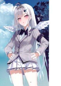 Rating: Safe Score: 30 Tags: greennight seifuku wings User: kiyoe