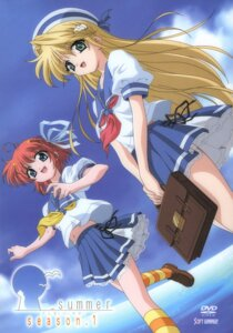 Rating: Safe Score: 3 Tags: _summer hatano_konami kaizu_sana seifuku User: Paganini
