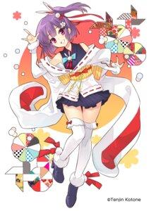 Rating: Safe Score: 18 Tags: heels ito_noizi japanese_clothes tenjin_kotone tenjin_kotone_(character) thighhighs User: saemonnokami