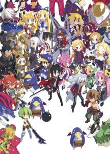 Rating: Safe Score: 21 Tags: archer_(disgaea) armor axel_(disgaea) bandages cleavage desco disgaea disgaea_2 disgaea_4 disgaea_d2 dress duplicate flonne gun harada_takehito horns japanese_clothes kazamatsuri_fuuka lolita_fashion mecha megane monster_girl open_shirt pointy_ears prinny sarashi sword tail thighhighs vulcanus weapon User: Radioactive