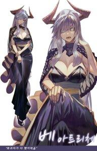 Rating: Safe Score: 30 Tags: cleavage dress gyudong123 horns no_bra User: Dreista
