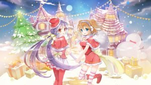 Rating: Safe Score: 20 Tags: christmas pantyhose sibyl thighhighs wallpaper User: Mr_GT