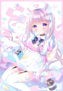 Rating: Questionable Score: 20 Tags: loli nurse omochi_monaka stockings tagme thighhighs User: Radioactive