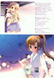 Rating: Safe Score: 10 Tags: mikeou paper_texture pink_chuchu seifuku yukata User: midzki