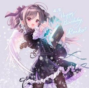 Rating: Safe Score: 62 Tags: dress gothic_lolita kanzaki_ranko lolita_fashion pantyhose the_idolm@ster the_idolm@ster_cinderella_girls tsukigami_luna wings User: 蕾咪