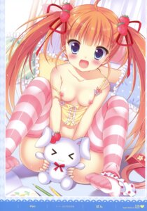 Rating: Questionable Score: 128 Tags: breasts loli nipples pan pantsu panty_pull thighhighs User: fireattack